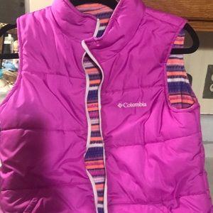 Columbia girls  vest